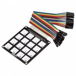 Kapazitiver Touch Tastatur mit 16 Tasten
