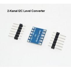 2-channel Logic Level Converter 5V-3V Bi-Directional