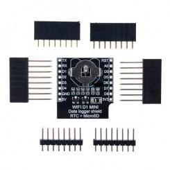 Echtzeituhr RTC Ds1307  Daten Logger Schild mit Micro SD