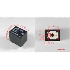 Relais 5VDC 1x Wechsler 20 A 125 VAC