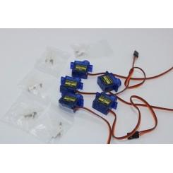 5x 9G Micro Servomotor