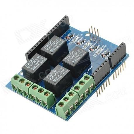 4-Kanal Relais Schild Modul für Arduino