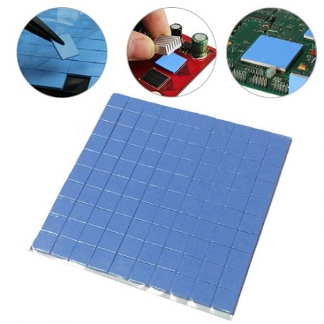 Wärmeleit-Silikon-Pad 25x25x1mm