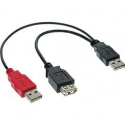 USB 2.0 Y-Anschlusskabel, 0,2m