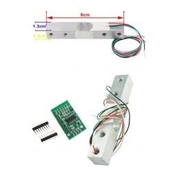 Arduino Digitale Wägesensor HX711 bis 10kg