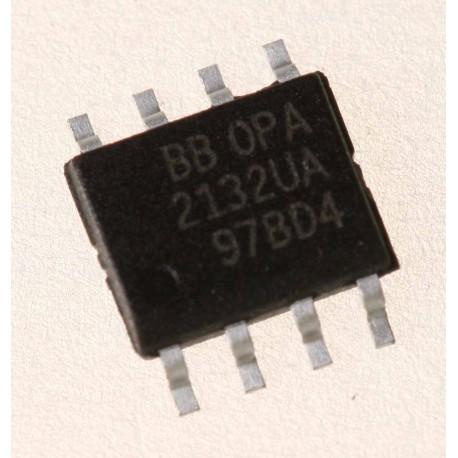 OPA2132UA OpAmp, Dual, 8MHz, SO-8