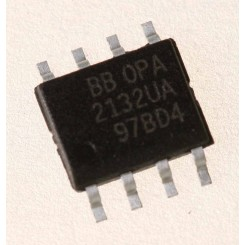 OPA2132UA OpAmp, Dual, 8MHz, SO-8