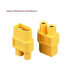 Adapter XT60-Stecker-EC3-Buchse