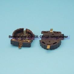 Batteriehalter für Knopfzellen CR1220,1225