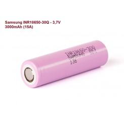 Samsung - INR18650-30Q 3,7V, 3000mAh (15A)