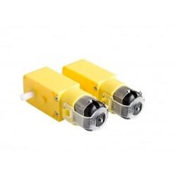 DC Motor 3-6VDC 1:48 paar