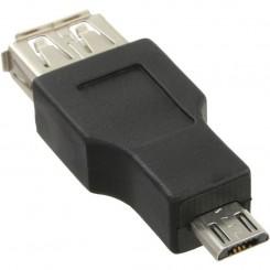 USB/A -Buchse zu USB 2.0 Micro-Stecker Typ B