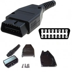 OBD II Diagnose Stecker 16-polig