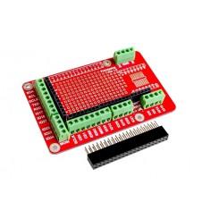 Raspberry Pi Prototyping Board mit Schraubklemmen