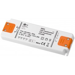 LED-Trafo 20W/12V - 12 Volt DC für LEDs bis 20 Watt