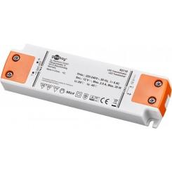 LED-Trafo 30W/12V - 12 Volt DC für LEDs bis 30 Watt