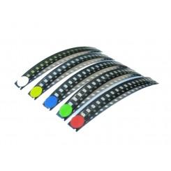 LED SMD 1206 Sortiment 100 Stück 5 x 20 Stück rt bl gn ge weiß