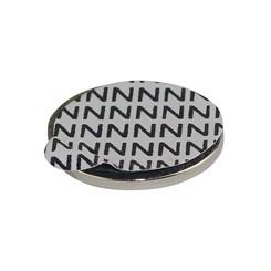 Neodymiummagnet 12x1,5mm mit Klebeseite 8 Stück