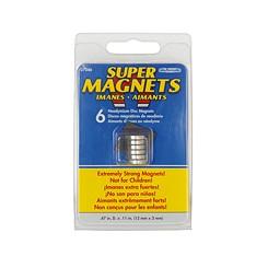 Neodymiummagnet 12x3mm 3 Stück