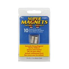 Neodymiummagnet 8x3mm 10 Stück