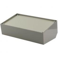 TEKO Gehäuse Pult 216 x 130 x 78 mm Kunststoff grau