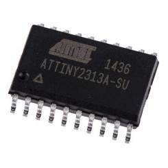 ATTINY2313A-SUAVR 8 bit 128 B RAM, 2 KB Flash, SOIC 20-Pin