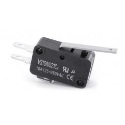 Micro-Schalter (Endschalter) 10A gerader Hebel