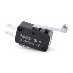 Micro-Schalter (Endschalter) 10A Rollenhebel