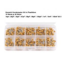 Keramik Kondensator Kit 10pF~100nF