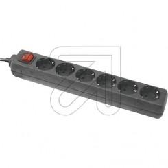 Steckdosenleiste 6-fach mit Schalter 3 m