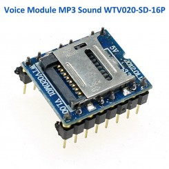 Arduino Soundmodul WTV020-SD-16P
