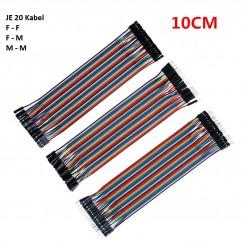 Laborkabel-Set 20x10cm M/F,M/M,F/F