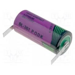 SL-361/T Batterie 3,6V 2/3AA mit Lötplättchen