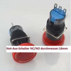 Not-Aus-Schalter 16mm