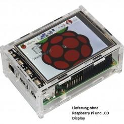 """Acryl Gehäuse für Raspberry Pi und das 8,128-cm-(3.2"""")-Display"""