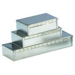 TEKO Gehäuse RF 106 x 50 x 26 mm Metall silber