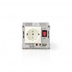 Wechselrichter + USB-Port 12V zu 230V 300W