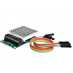 Arduino LED Modul 8x8 DOT Matrix Tube
