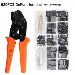 Dupont-Stecker Set mit passender Crimpzange