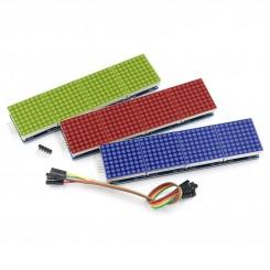 Arduino-LED-Modul 8x8 DOT Matrix 4 in 1 display