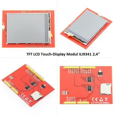 TFT LCD Touch-Display Modul ILI9341 2,4""