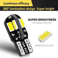 2x LED S T10-8SMD5730