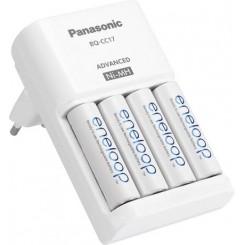 Ladegerät Panasonic inkl. Akkus 4xMignon (AA)