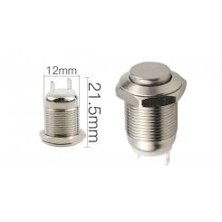 Metalltaster 12 mm 1x Ein