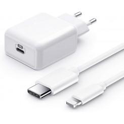 iPhone Schnellladegerät USB C 1,5m Typ C auf Lightning Kabel