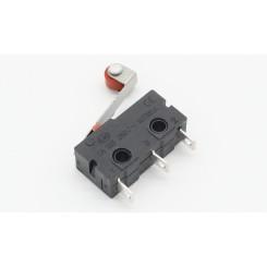 Micro-Schalter (Endschalter) Rollenhebel Rot