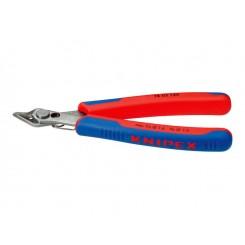 KNIPEX Schneidende Zange rot / blau 125 mm