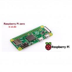 Raspberry Pi Zero, 1 GHz, 512 MB