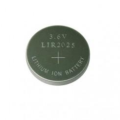 LIR2025 aufladbare Li-Ion Knopfzelle 3,6V