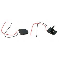 Batteriehalter für Knopfzellen 1x CR2032 mit Schalter